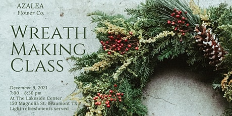 Christmas Wreath Making Class tickets