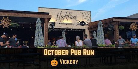 October Pub Run: Halloween at High Fives tickets