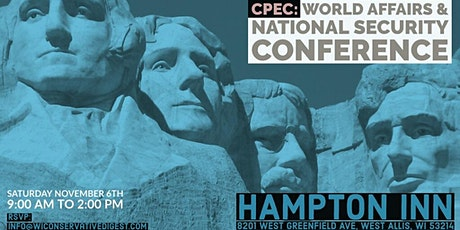 CPEC: World Affairs and National Security Conference tickets