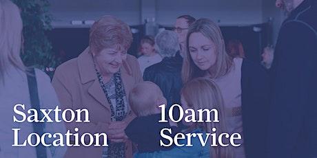Annesbrook Saxton - 10am Service tickets