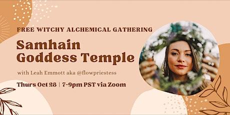 Samhain Goddess Temple tickets