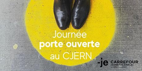 Journée porte ouverte au CJERN billets