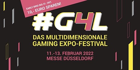 #G4L Gaming Expo-Festival 2022 Tickets