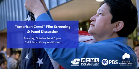 """""""American Creed"""" Film Screening & Panel Discussion Event tickets"""