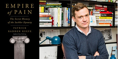 Empire of Pain: An Evening with Patrick Radden Keefe tickets