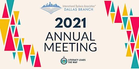 Dallas IDA's 2021 Annual Board Meeting tickets