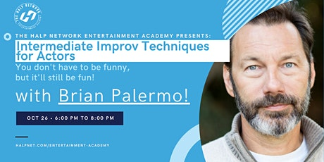 Intermediate Improv Techniques for Actors with Brian Palermo! tickets