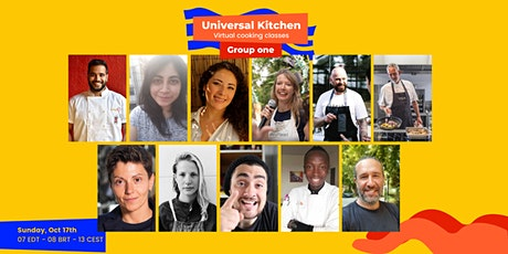 Universal Kitchen by Social Gastronomy Movement - Group 1 tickets