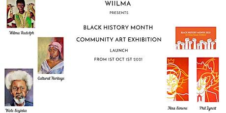 WILMA BLACK HISTORY MONTH COMMUNITY ART DISPLAY AT LEA BRIDGE LIBRARY tickets