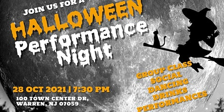 Halloween Gala Night Party & Thriller group class tickets
