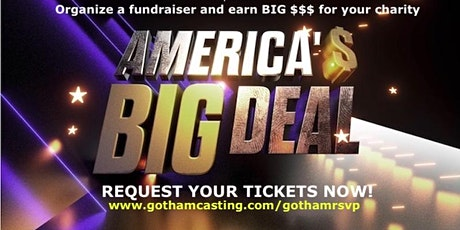 """OCT 21 at 730pm- USA NETWORKS  """"AMERICA'S BIG DEAL"""" LIVE tickets"""