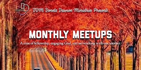 October Monthly Meetup tickets