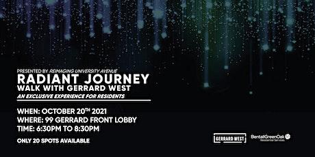 Radiant  Journey - Walk with Gerrard West tickets