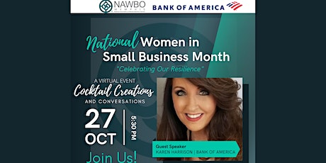 NAWBO901 Cocktail Creations and Conversations Tickets
