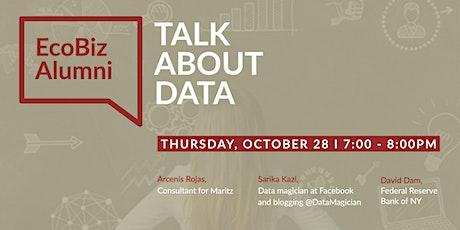 EcoBiz Alumni: Talk About Data tickets