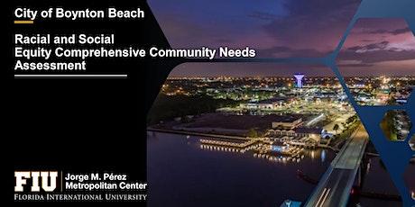 City of Boynton Beach Community Needs Discussion tickets
