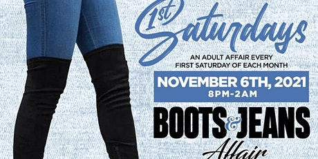 Regency West 1ST Saturdays - The Boots & Jeans Affair  - 11/6/2021 8pm tickets