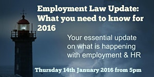 Employment Law Update: What you need to know for 2016
