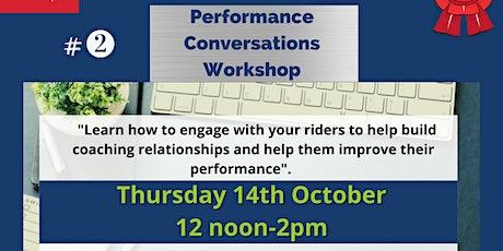 Performance Conversations Workshop tickets
