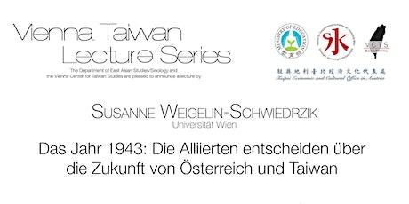Vortrag Susanne Weigelin-Schwiedrzik Tickets