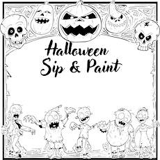 Halloween Sip & Paint tickets