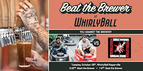 Beat The Brewer at WhirlyBall   Revolution Brewing   Naperville tickets