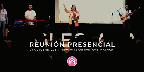 Reunión Presencial Cuernavaca boletos