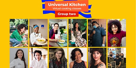Universal Kitchen by Social Gastronomy Movement - Group 2 tickets