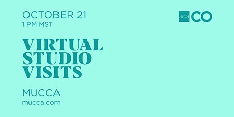 Virtual Studio Visit with Mucca tickets