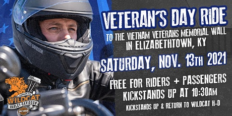 Veterans Ride to the Wall tickets
