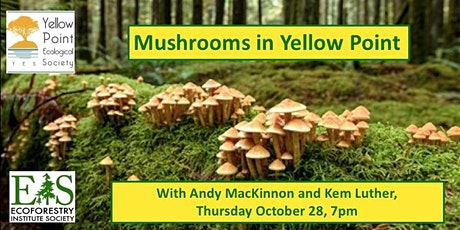 The Mushrooms of British Columbia tickets