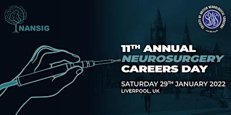 NANSIG/SBNS 11th Annual Neurosurgery Careers Day 2022 tickets