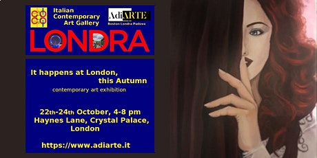 Contemporary Art Exhibition: It Happens in London, this Autumn tickets