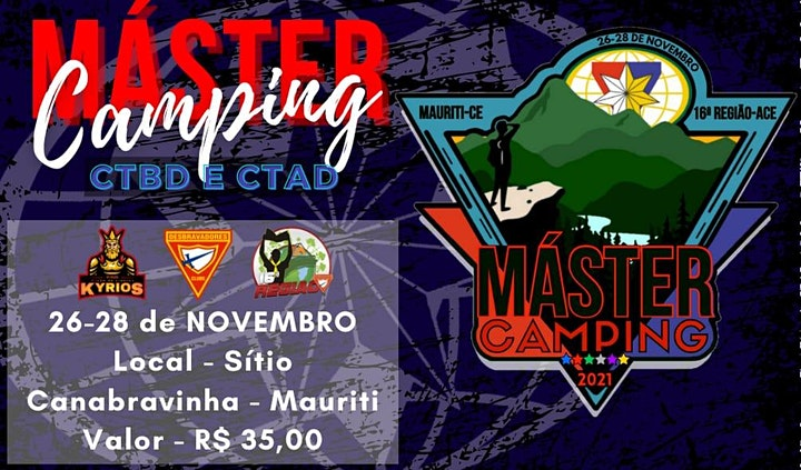 Imagem do evento Máster Camping