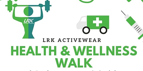 LRK Health & Wellness Vaccine Walk tickets