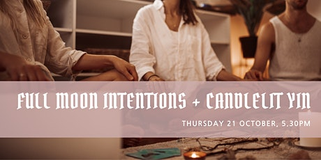Full Moon Intentions + Candlelit Yin tickets