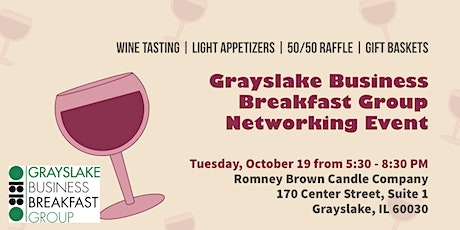Grayslake Business Breakfast Group Networking Event tickets