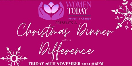 Christmas Dinner with a Difference tickets