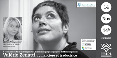 Valérie Zenatti, romancière et traductrice