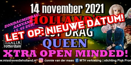 Finale Miss Travestie Holland - Holland's Best Drag Queen 2021 tickets