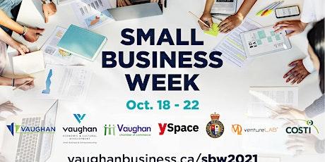 Vaughan Small Business Week - Tech Venture │Growth Hacking 101 tickets