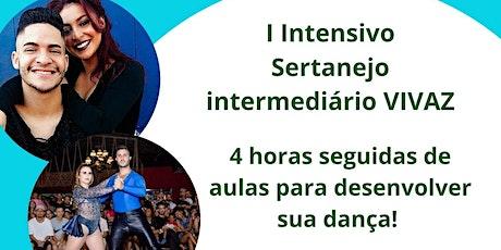 Intensivo sertanejo intermediário VIVAZ ingressos