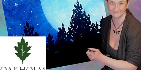 Full Moon Paint Night At Oakholm Brewery tickets