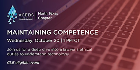 Maintaining Competence tickets