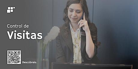 Webinario: Digitaliza y controla tus visitas de forma segura y oportuna. tickets