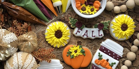 Fall Cookie Decorating Workshop with Jill Cruz (Bakes by Jill) tickets