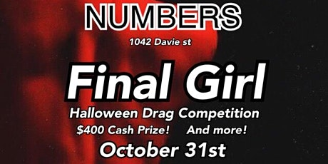 Numbers Halloween Drag Competition tickets