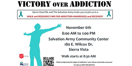 Victory Over Addiction tickets