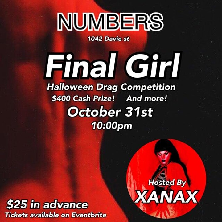 Numbers Halloween Drag Competition image