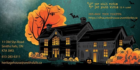 Haunted Heritage House tickets